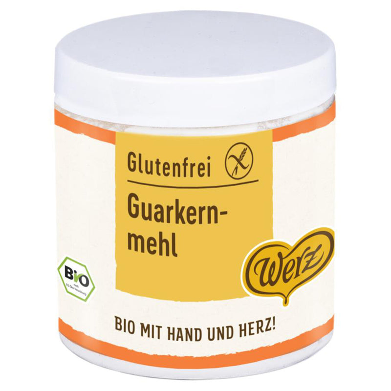 Werz Bio Guarkernmehl glutenfrei kochen backen Zöliakie