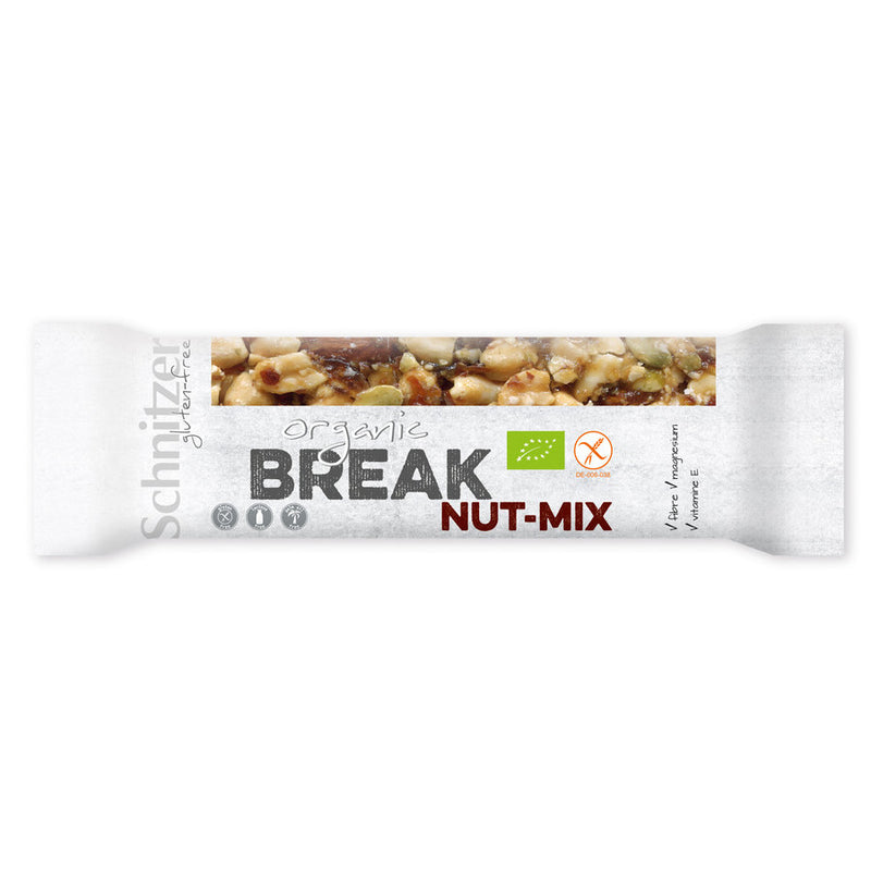 Schnitzer Break Nuss Mix Riegel glutenfrei