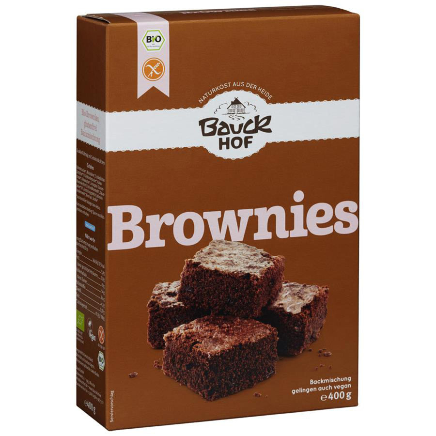 Bauckhof Brownies Backmischung glutenfrei