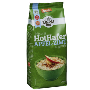 Hot Hafer Apfel-Zimt