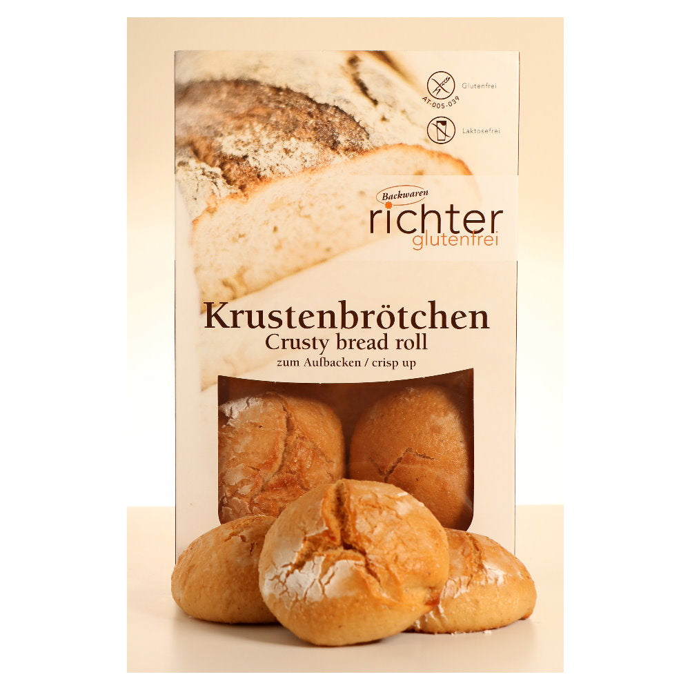 Backwaren Richter Krustenbrötchen glutenfrei