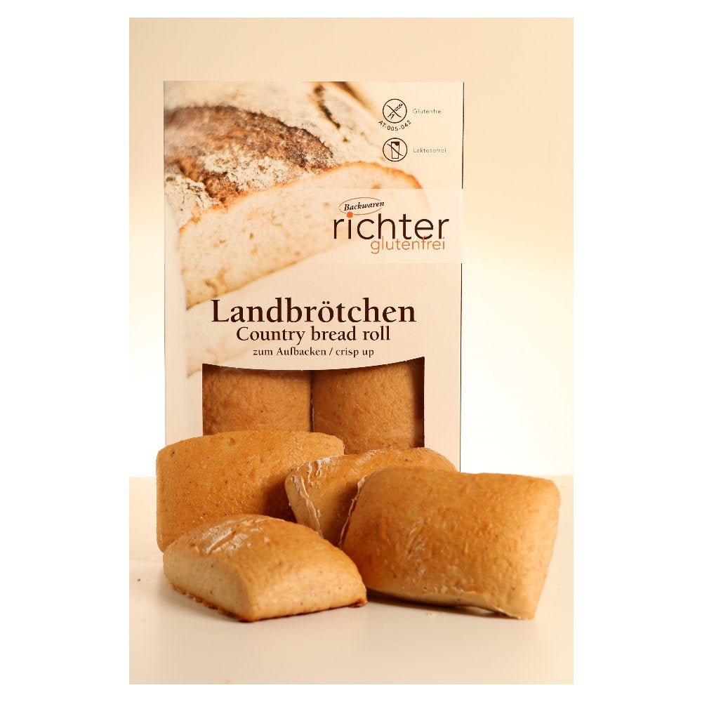 Backwaren Landbrötchen glutenfrei