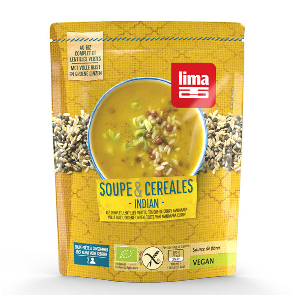 Lima Suppe und Cerealien Indian glutenfrei