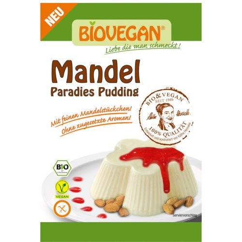 Mandel Paradies Pudding