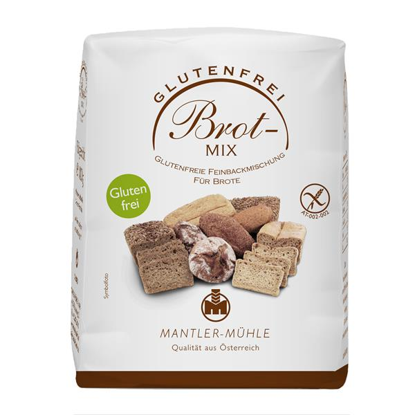 Mantler Mühle Brot Mix glutenfrei