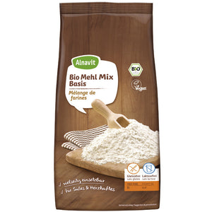 Alnavit Bio Mehl Mix Basis Backmischung glutenfrei