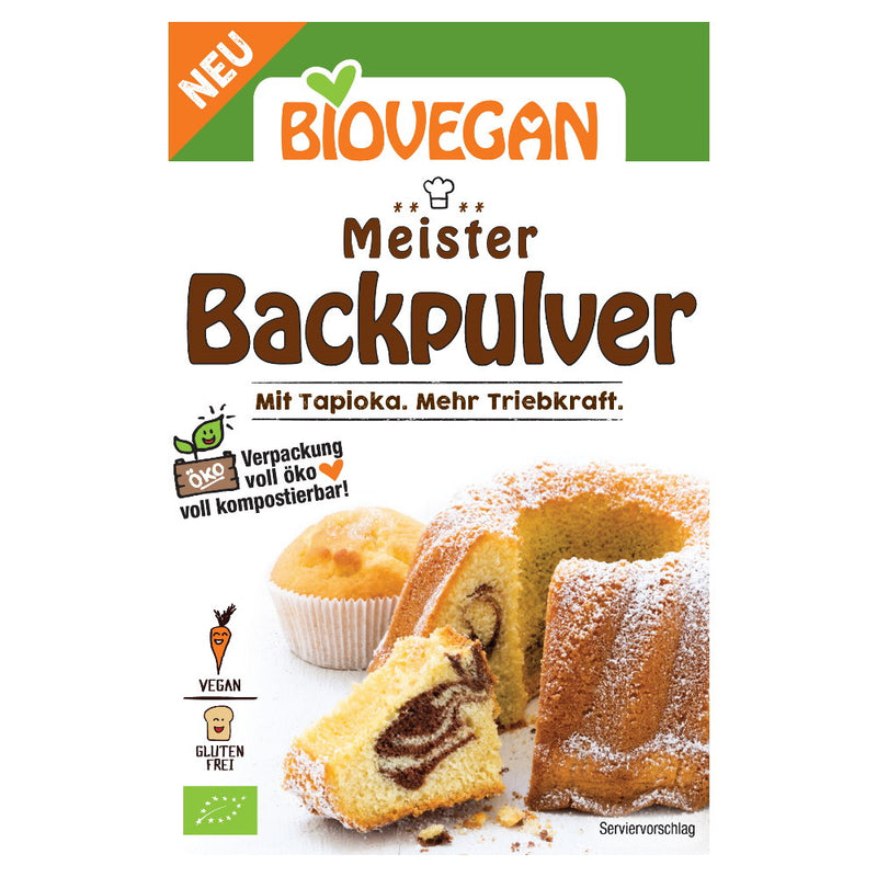 Meister Backpulver 3x 17g