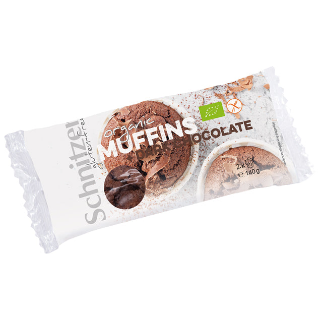 BIO Muffin+Dark Chocolate
