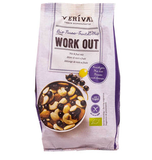 Verival Work Out Nuss-Frucht Mix glutenfrei