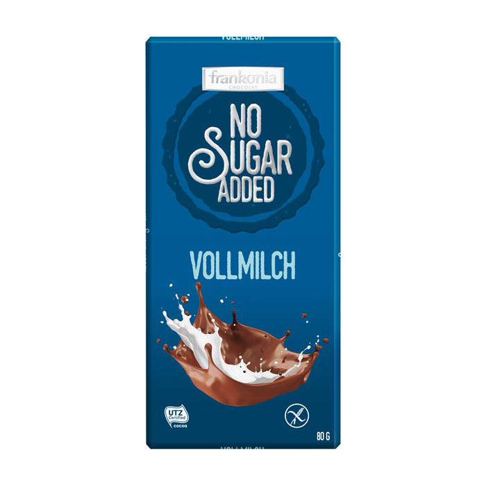 Vollmilch No Added Sugar Schokolade