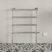 Load image into Gallery viewer, Bisque Osbourne Electric Towel Rail