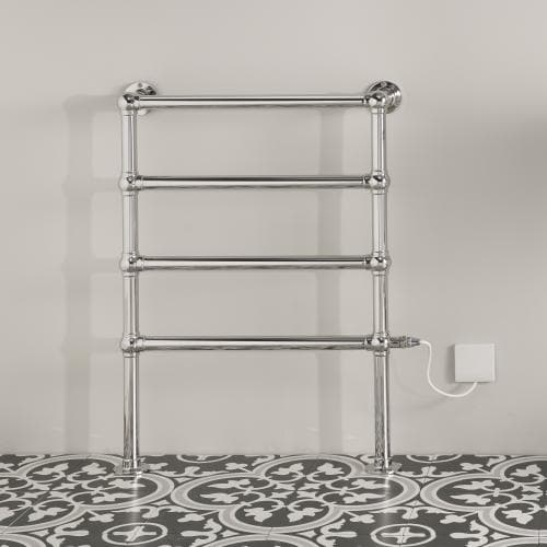 Bisque Osbourne Electric Towel Rail