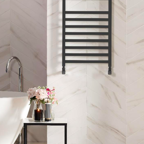 Bisque Optic Towel Radiator