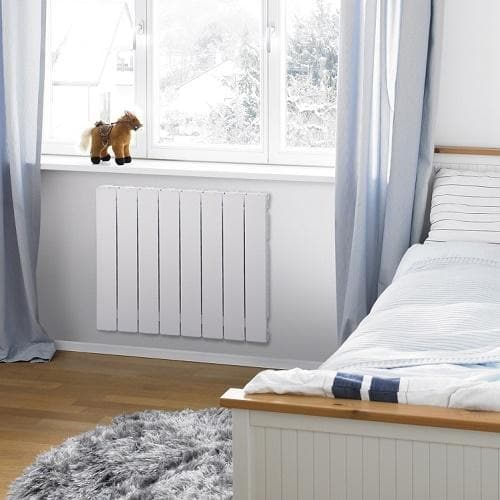 Zehnder Blitz Super Horizontal Aluminium Living Room Radiator