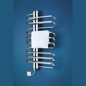 Bisque Orbit Electric Towel Rail