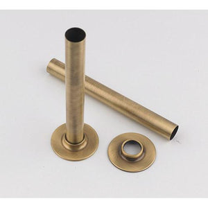 Antique Brass Pipe Sleeves