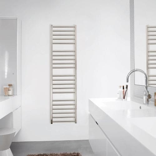 Zehnder Stellar Spa Towel Rail - Stainless Steel