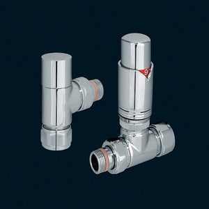 Bisque Valve Set T (Mixed Thermostatic) - Chrome Finish