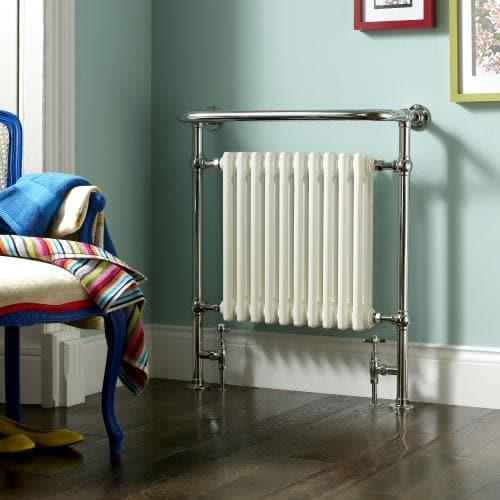 Bisque Balmoral Electric Towel Rail