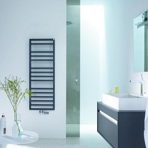 Zehnder Quaro Spa Towel Rail Bathroom
