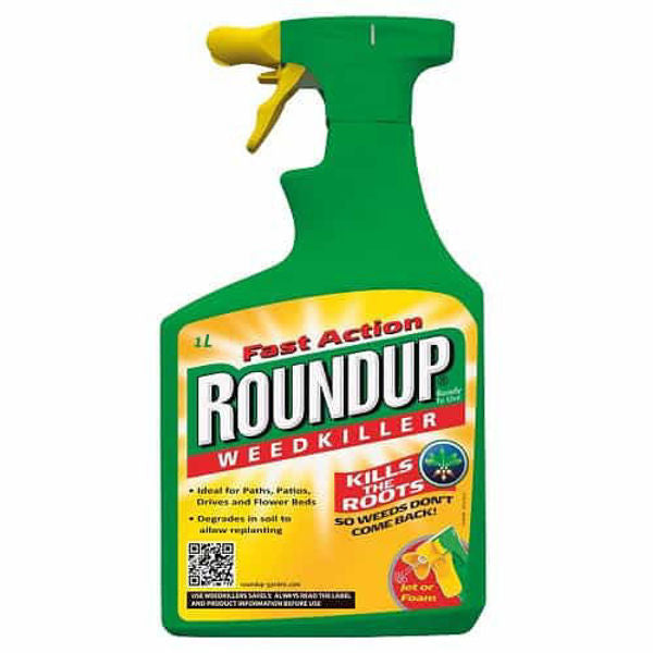 Roundup Total Weedkiller 1L Ready To Use
