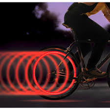 Spoke Lit LED Red