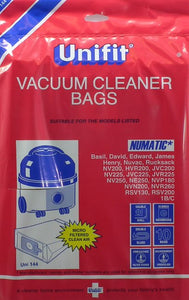 Unifit Xtra UNI-144 Hoover Bags