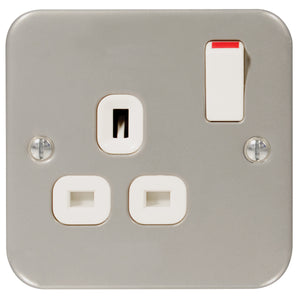 Metal Clad Switch Socket