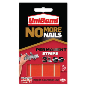 UniBond No More Nails Permanent Double Sided Strips