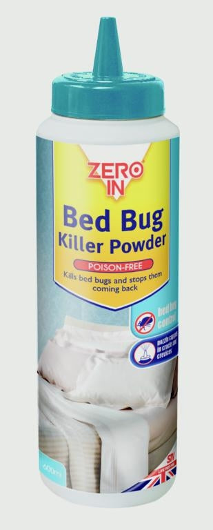 Zero In Bed Bug Killer Powder