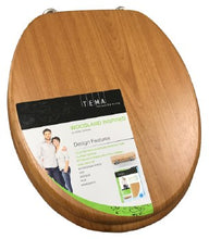 Load image into Gallery viewer, Tema Woodland Oak Toilet Seat