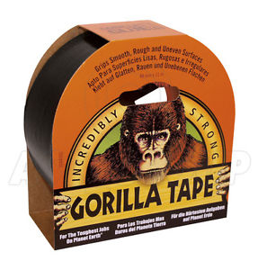 Gorilla Tape Black 11m x 48mm
