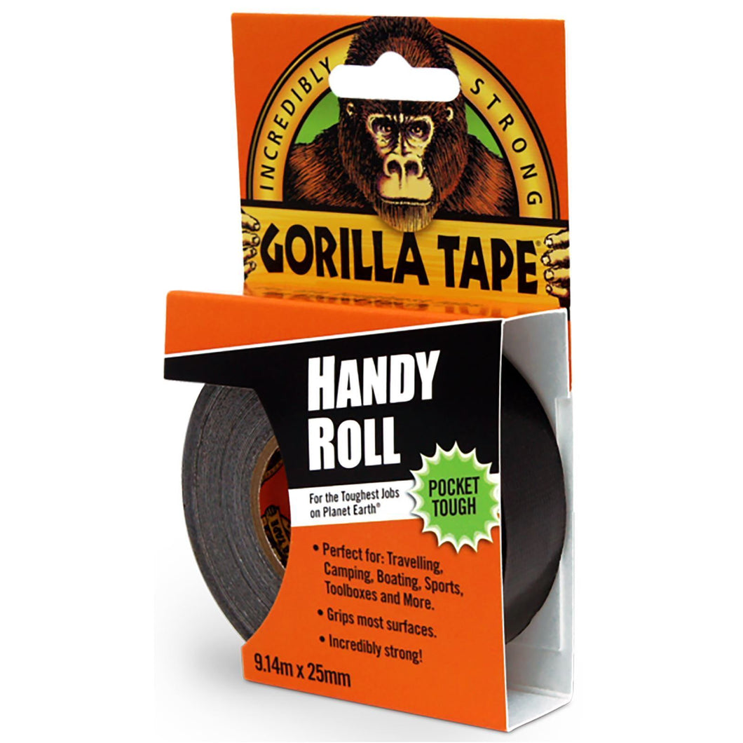 Gorilla Handy Roll Black 9,14m x 25mm