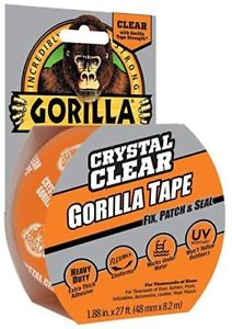Gorilla Tape Clear 8.2m x 48mm