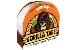 Gorilla Tape White 10m x 48mm