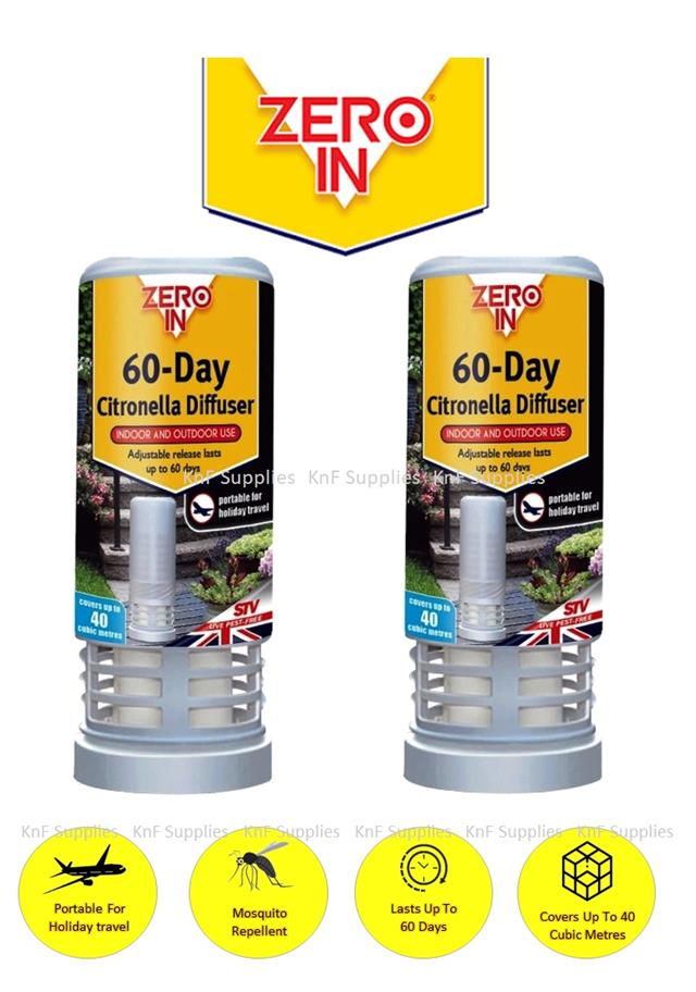 Zero In 60 Day Citronella Diffuser