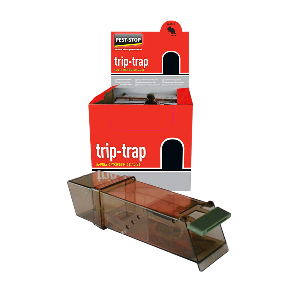 Trip-Trap Mouse Catcher