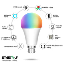 Load image into Gallery viewer, Wi-Fi Smart A60 9W Bulb Bayonet