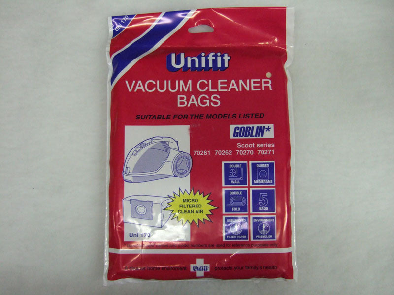 Unifit Xtra UNI-170 Hoover Bags