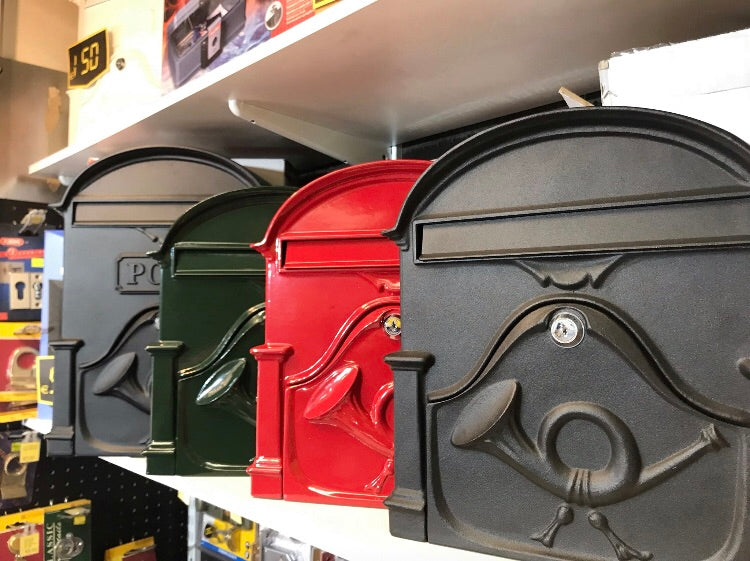 Cast Iron Postboxes