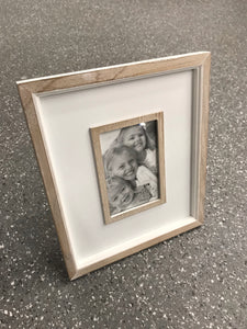 White Washed Photo Frame
