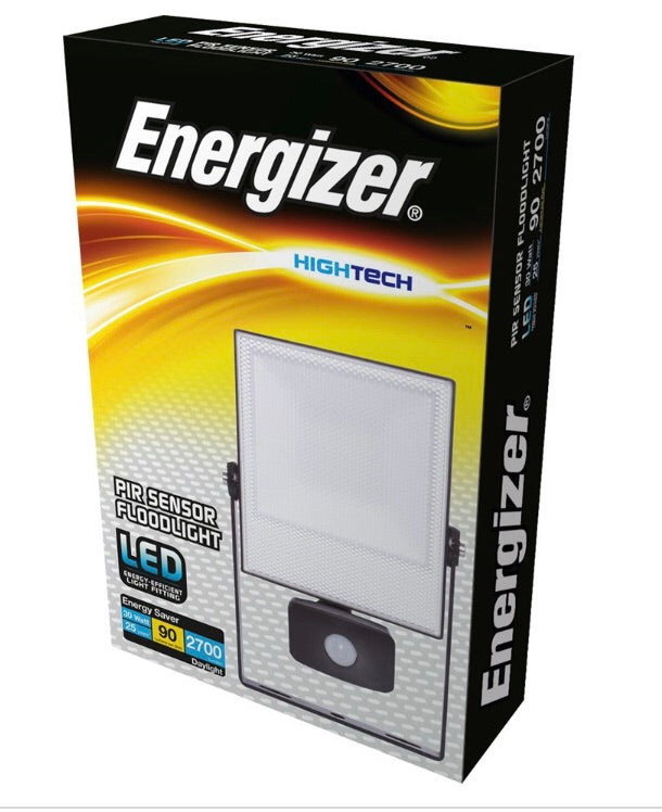 Energizer 30w Pir LED Floodlight