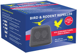 Bird & Rodent Ultrasound Repeller