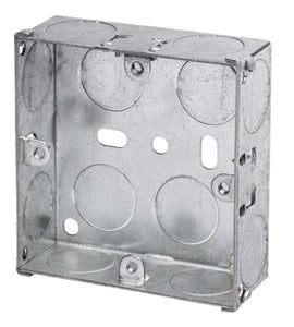 Metal Socket Box 25mm