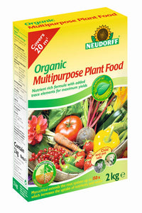 Neudorff Organic Multi Purpose Plant Food 2kg