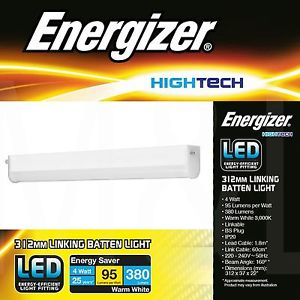 4w Energizer 312mm Linking Batten Light