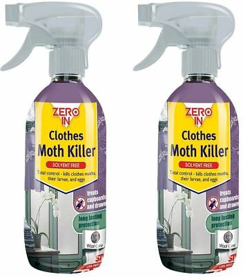 Zero In Clothes Moth Killer Spray 500ml