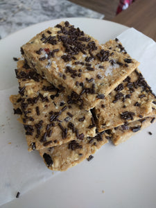NO BAKE Breakfast Vanilla Protein Bars