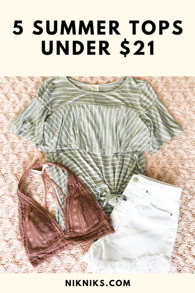 affordable cute summer tops