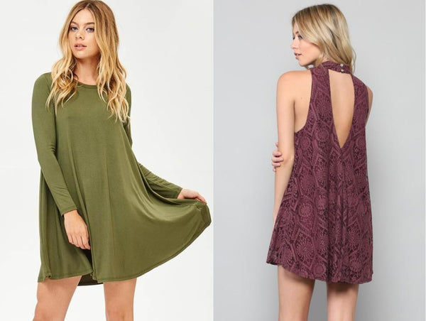 fall swing dresses